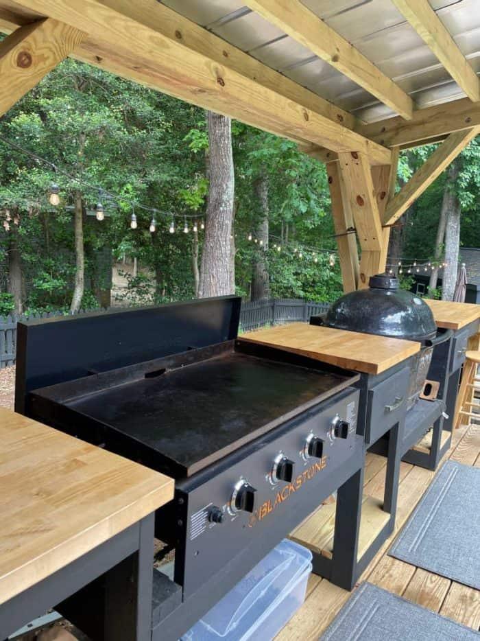 DIY Outdoor Kitchen Griddle