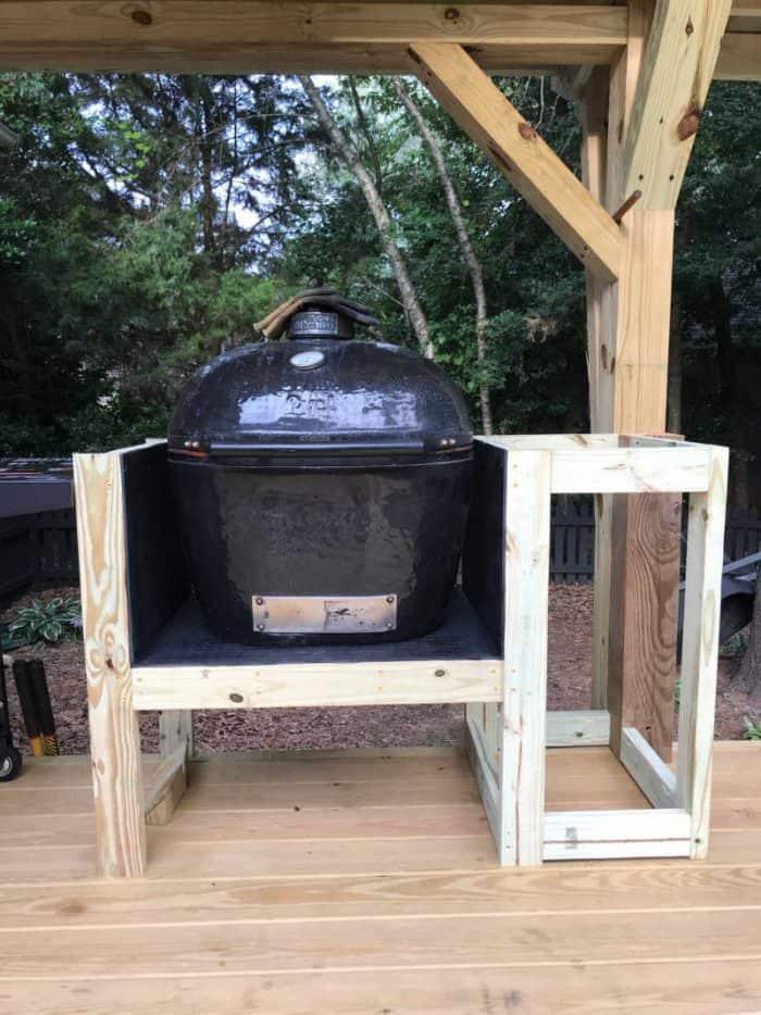 DIY Outdoor Kitchen Primo