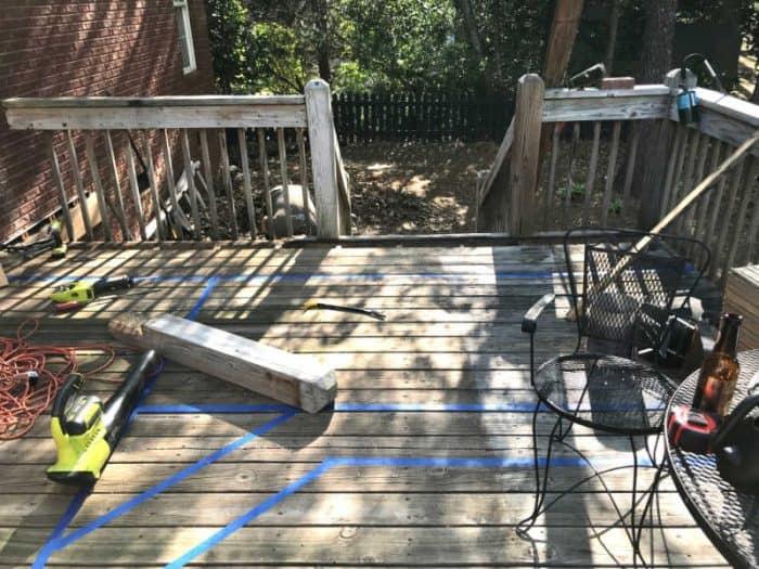 DIY Outdoor Kitchen new deck idea