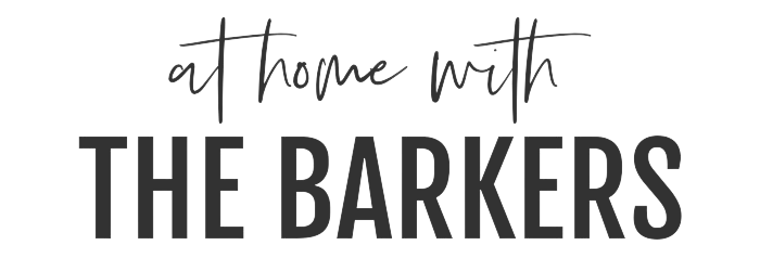 At Home with The Barkers site logo