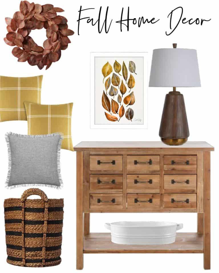 Fall Home Decor Graphic