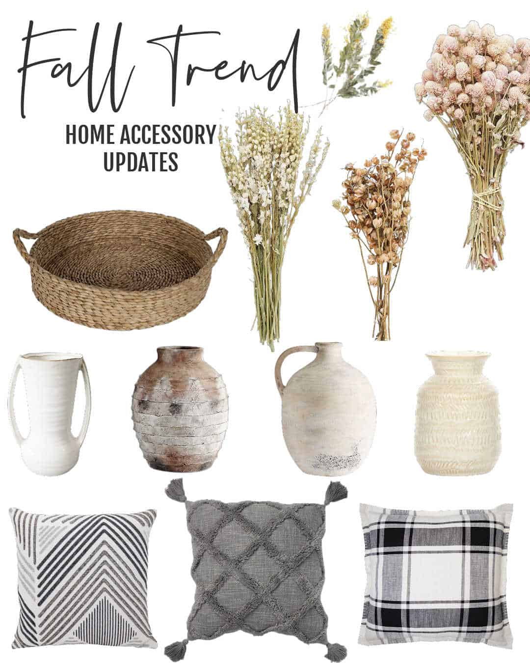 Home Accessories Fall Trend