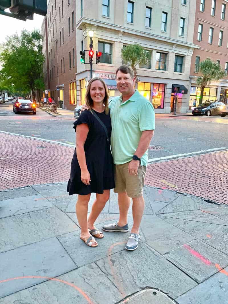 Ray and Sonya in Charleston